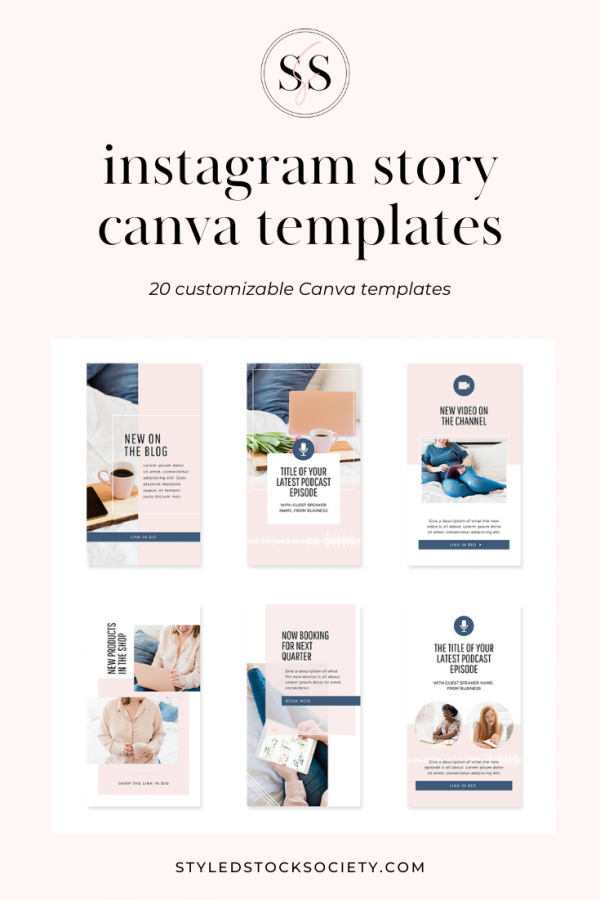 Instagram Story Canva Templates