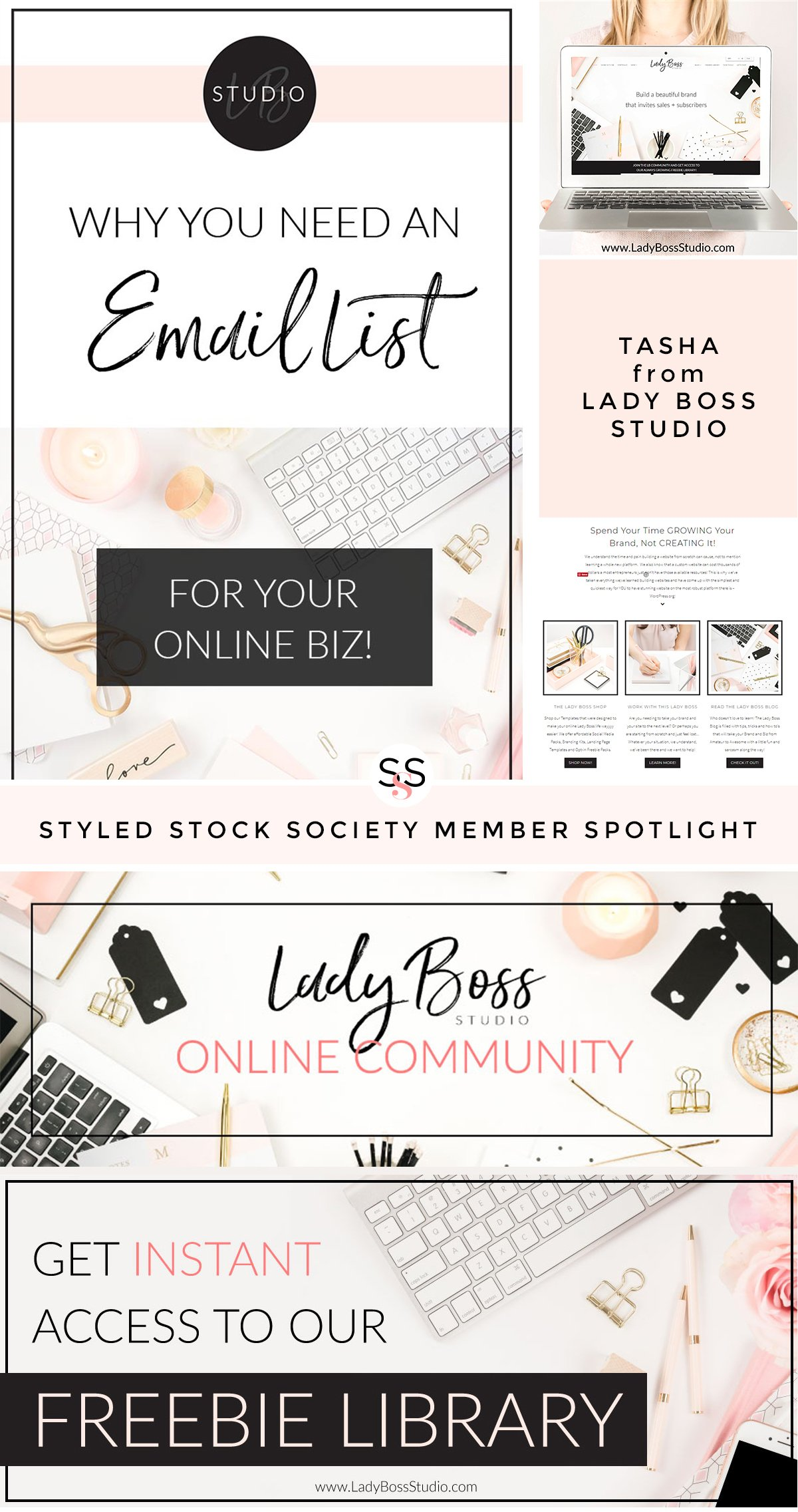 Styled Stock Society Member Feature: Tasha from Lady Boss Studio