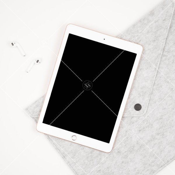ipad tablet mockup styled stock photo