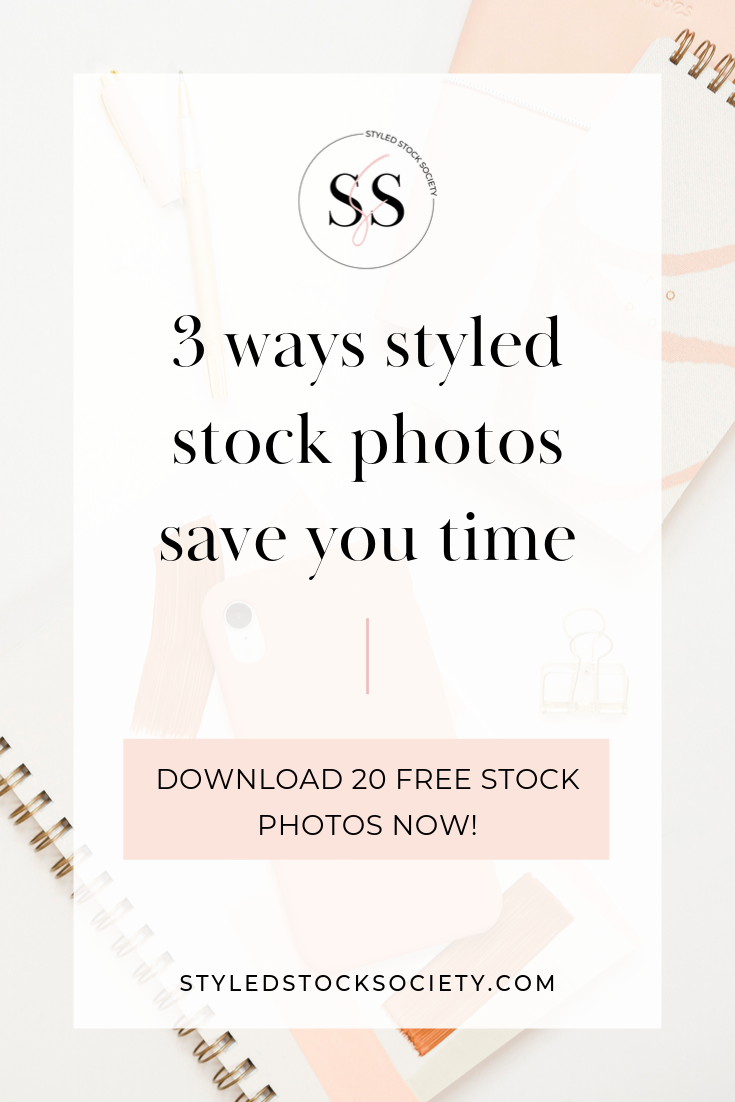 How styled stock photos save you time