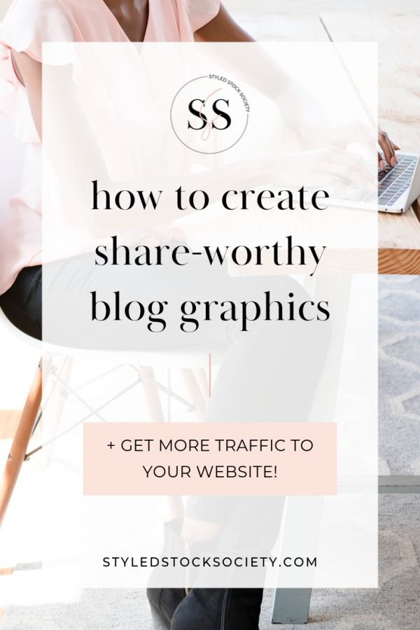 How to use styled stock photos to create blog graphics