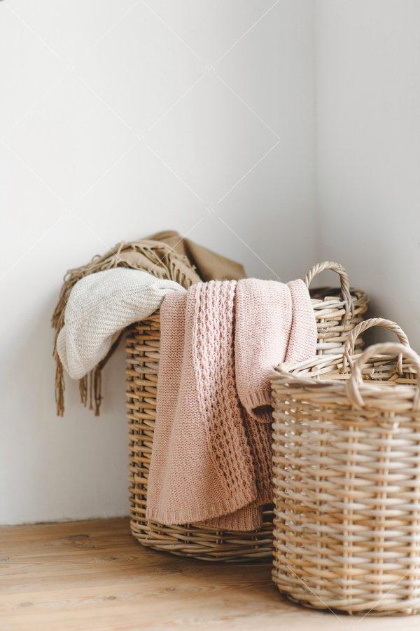 stylish laundry baskets