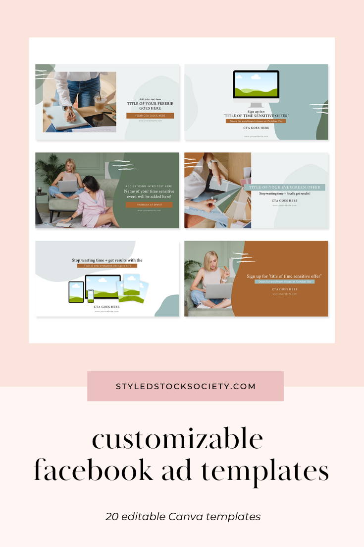 Facebook Ad Canva Templates