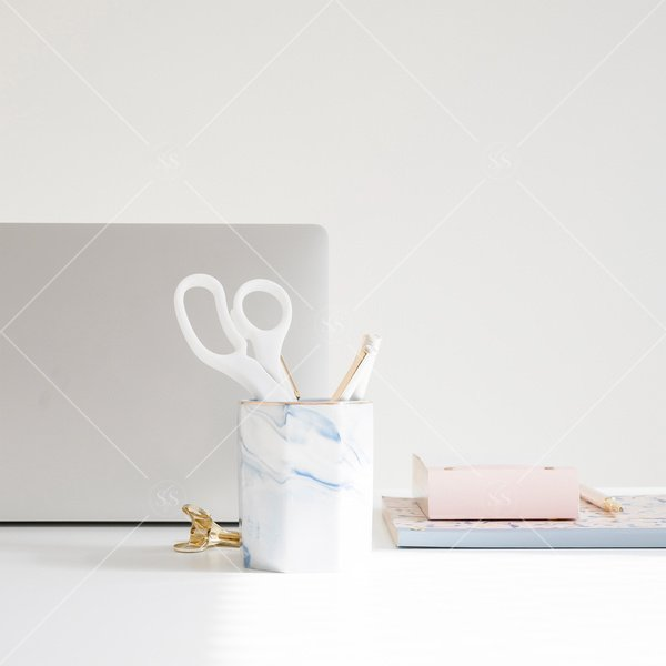 desk stock photo
