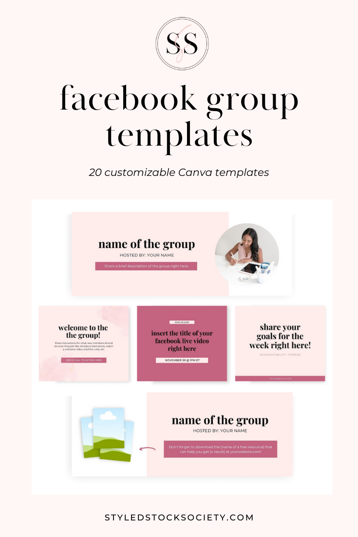 20 Facebook Group Templates to Grow Your Brand & Community ...