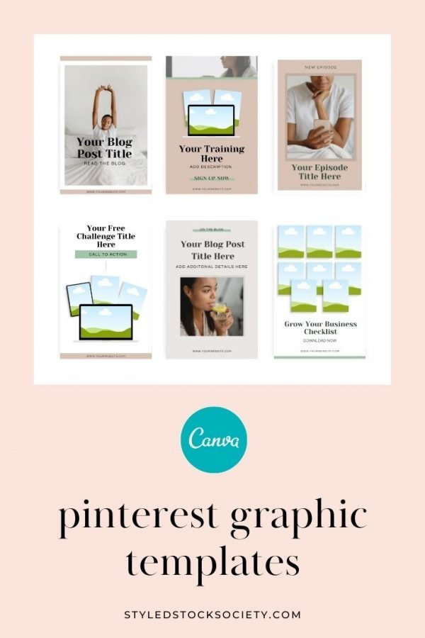 Webinar design canva templates