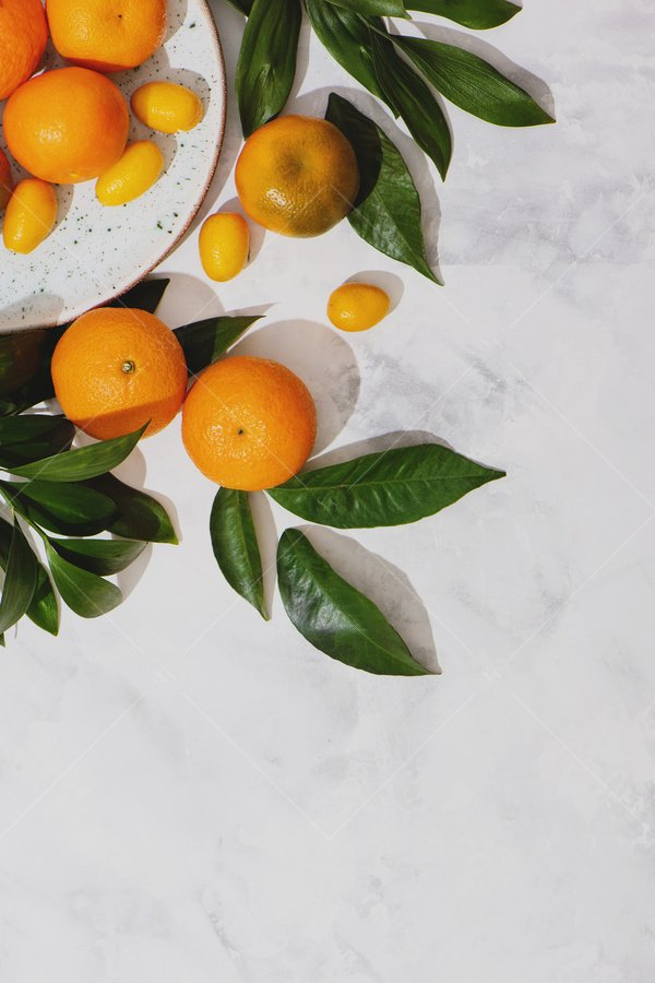 clementines still life stock photo