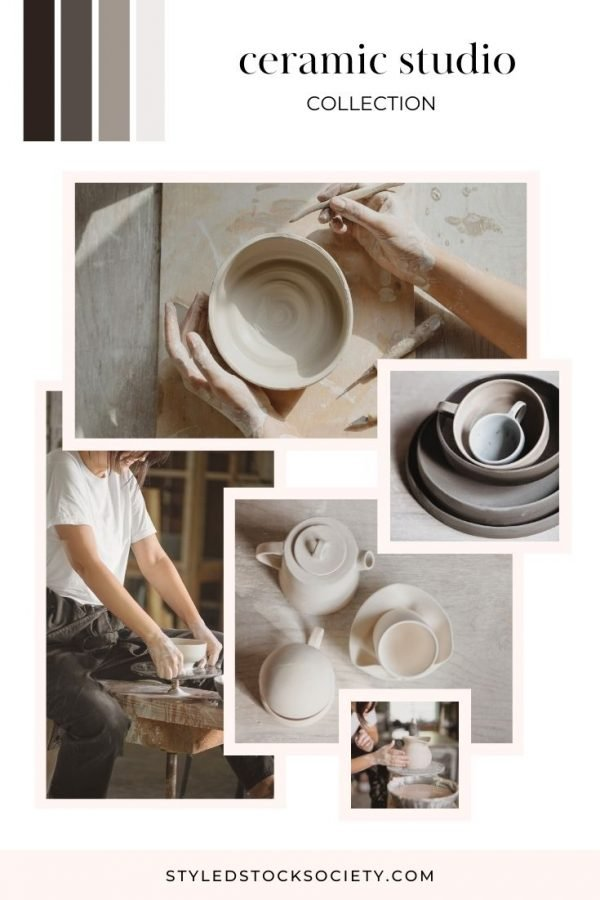 Ceramic Studio Mood Board