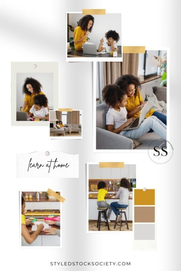 SSS Learn at Home Mood Board