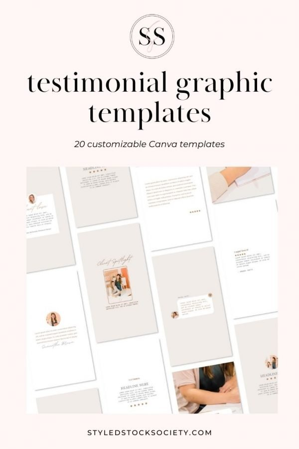 Testimonial Graphic Templates