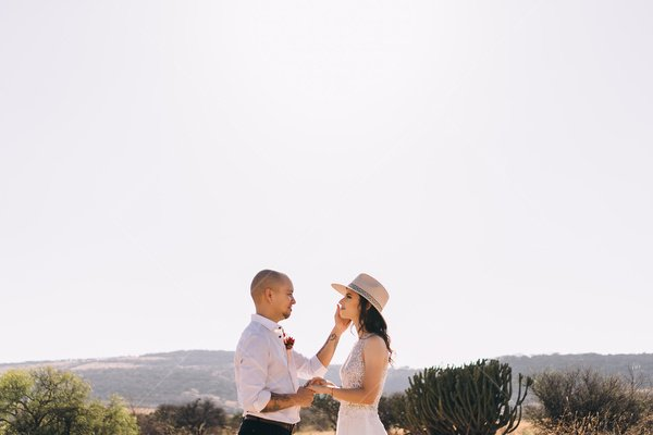 bridal desert stock photo