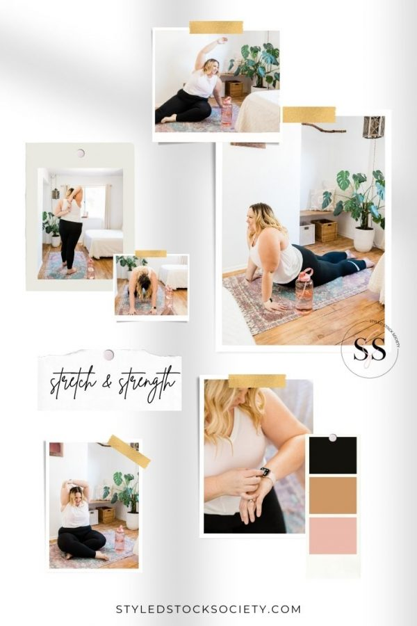 Stretch & Strength Animated Mood Board