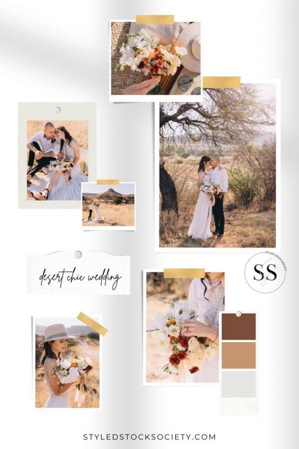 desert chic wedding Blog Mood Board