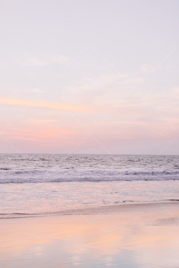 beach sunset sunrise stock photo