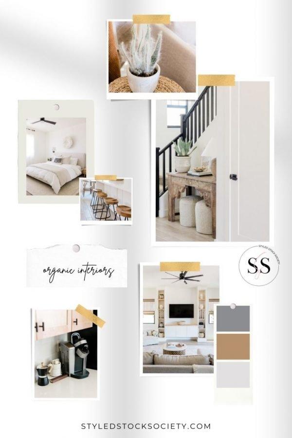 Organic Interiors Blog Mood Board
