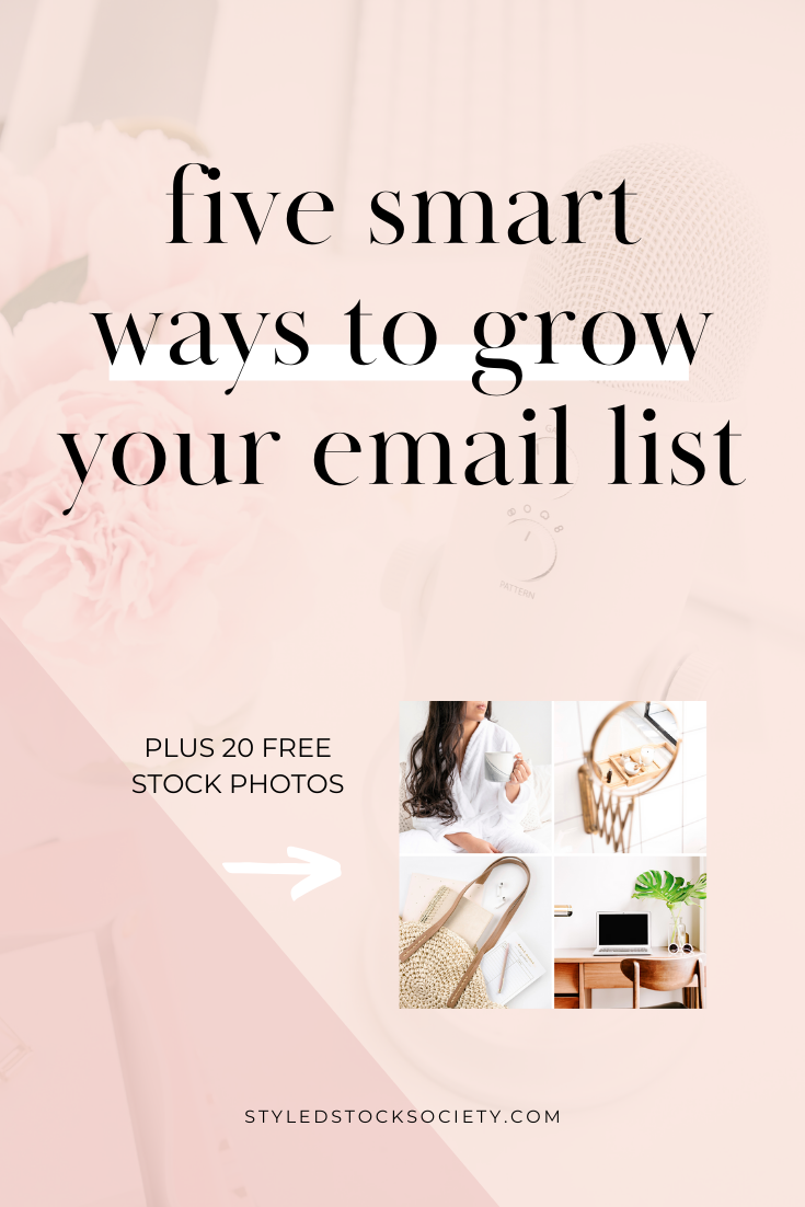 5 Smart Ways to Grow Your Email List