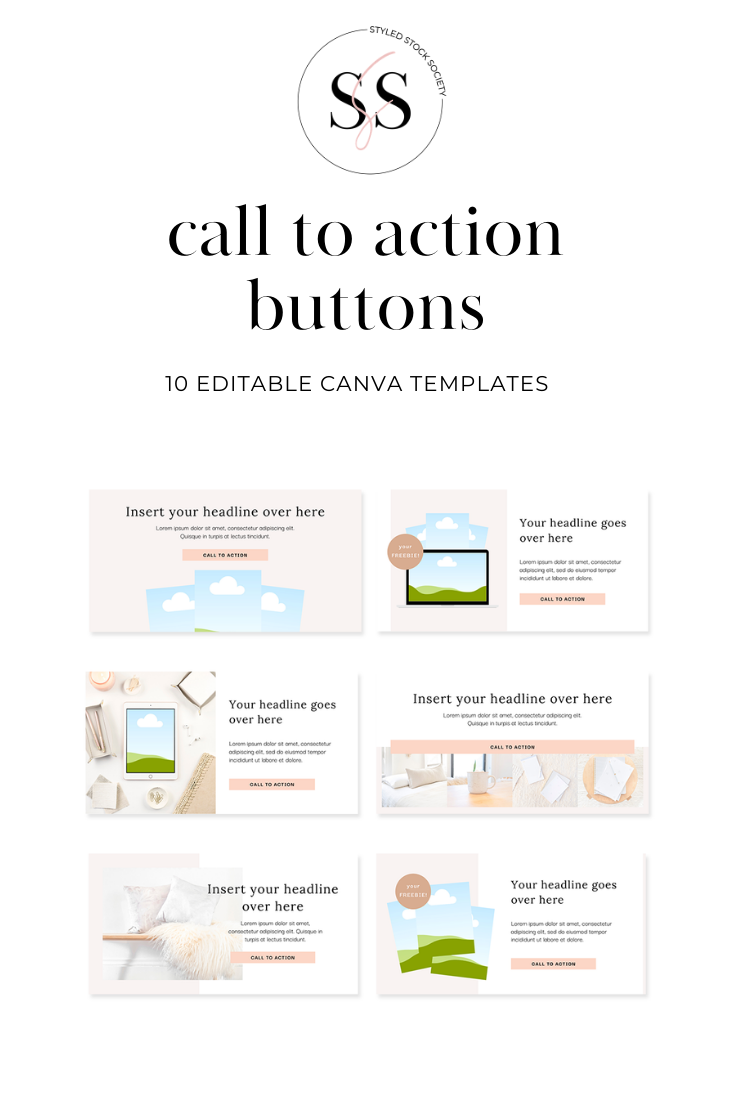 call-to-action canva design templates