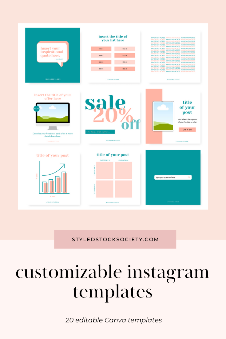 Instagram Post Canva Templates