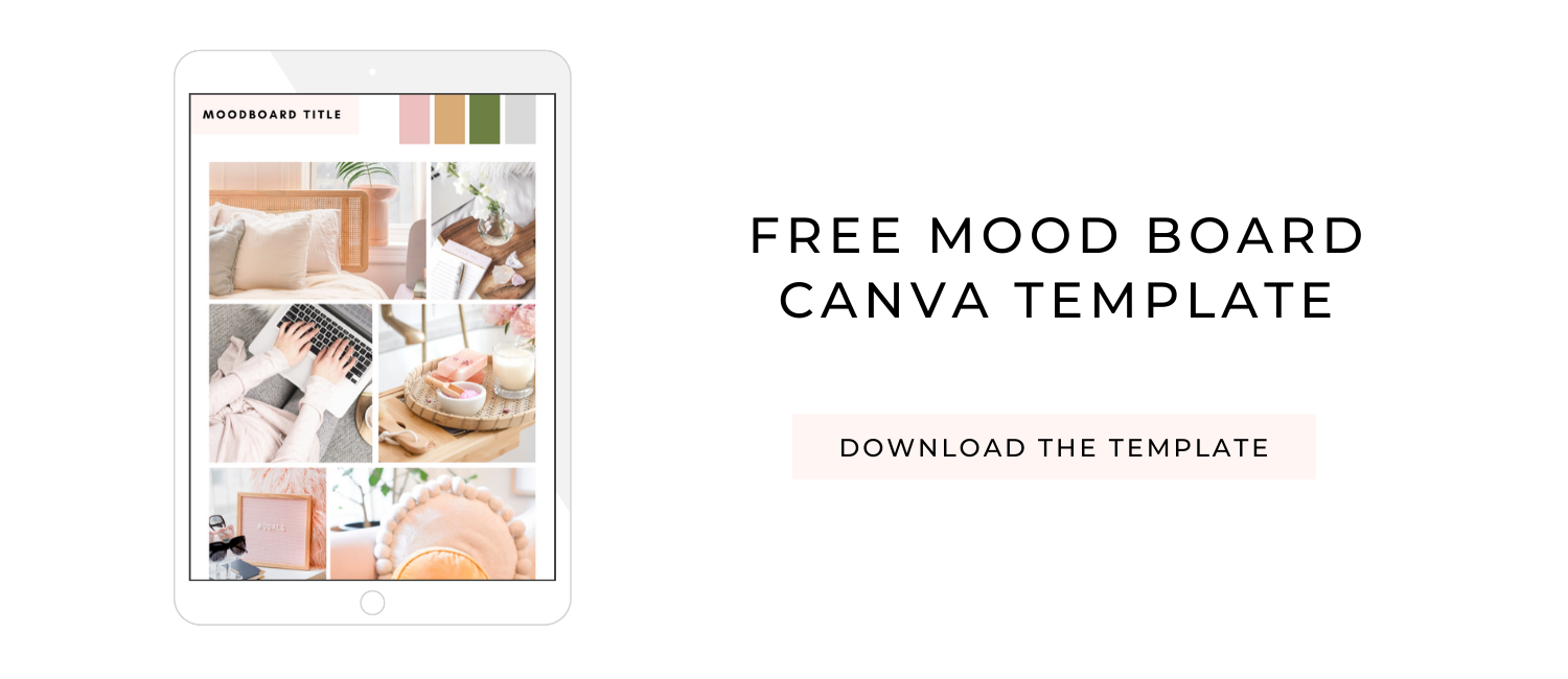 Mood Board Canva Template Download