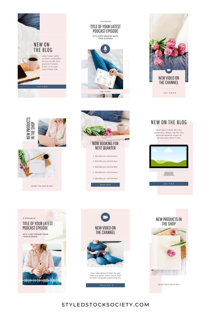Instagram Story Marketing Templates