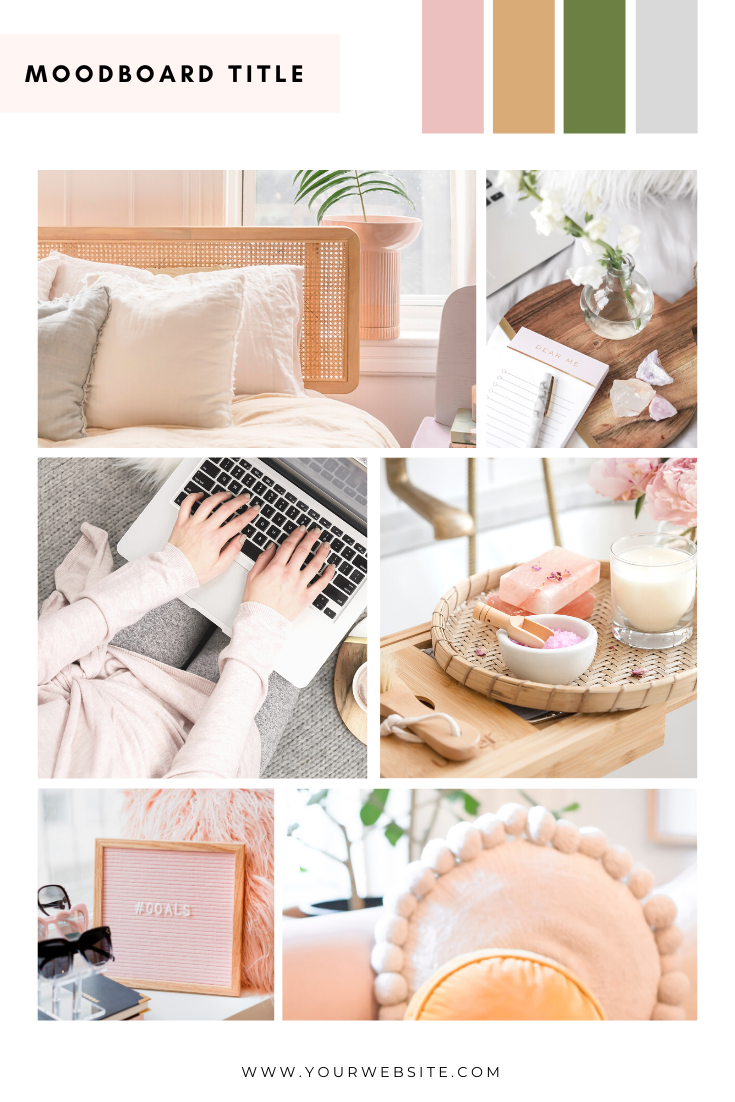 SSS Mood Board Template