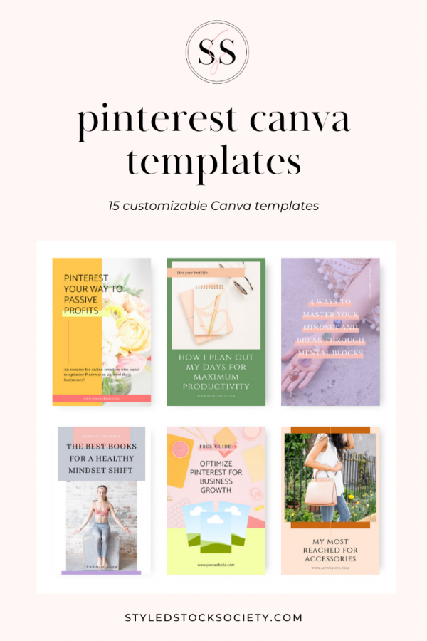 pinterest graphic canva templates